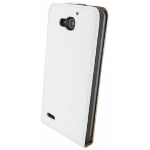 Productafbeelding van de Mobiparts Premium Flip Case Huawei Ascend G750 White
