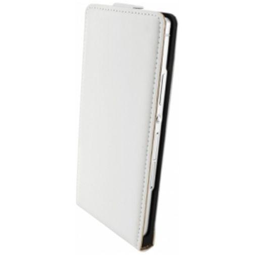Productafbeelding van de Mobiparts Premium Flip Case Huawei Ascend P7 White