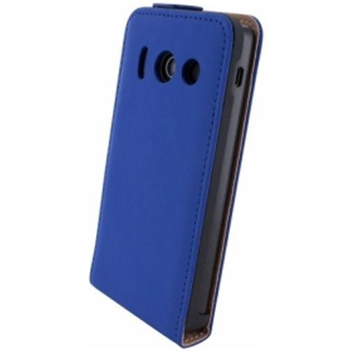 Productafbeelding van de Mobiparts Premium Flip Case Huawei Ascend Y300 Blue