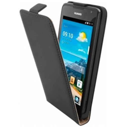 Productafbeelding van de Mobiparts Premium Flip Case Huawei Ascend Y530 Black