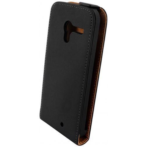Productafbeelding van de Mobiparts Premium Flip Case Motorola Moto X Black