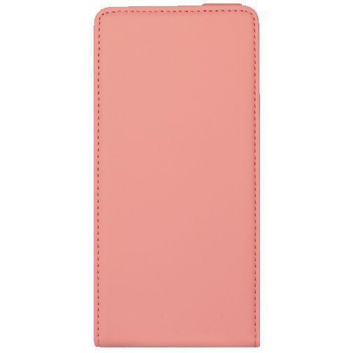 Productafbeelding van de Mobiparts Premium Flip Case Peach Pink Huawei P8 Lite
