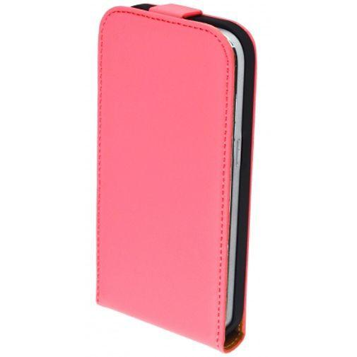 Productafbeelding van de Mobiparts Premium Flip Case Peach Pink Samsung Galaxy Core Prime (VE)