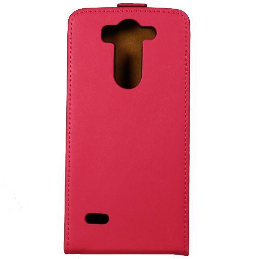 Productafbeelding van de Mobiparts Premium Flip Case Pink LG G3 S
