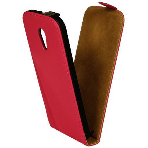 Productafbeelding van de Mobiparts Premium Flip Case Pink Motorola New Moto G