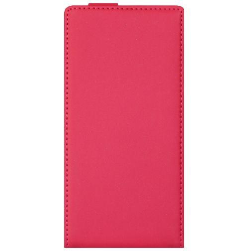 Productafbeelding van de Mobiparts Premium Flip Case Pink Nokia Lumia 735