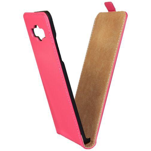 Productafbeelding van de Mobiparts Premium Flip Case Pink Samsung Galaxy A5
