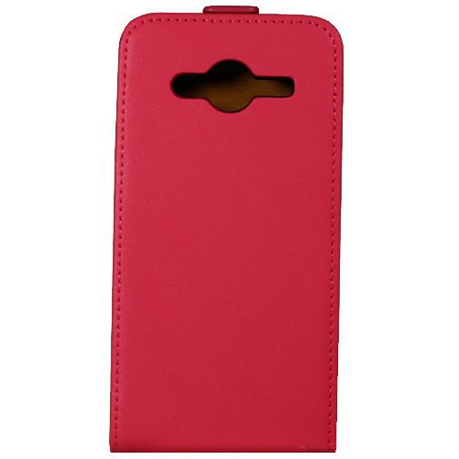 Productafbeelding van de Mobiparts Premium Flip Case Pink Samsung Galaxy Core 2