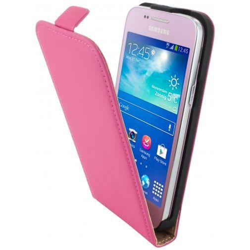 Productafbeelding van de Mobiparts Premium Flip Case Pink Samsung Galaxy Core Plus
