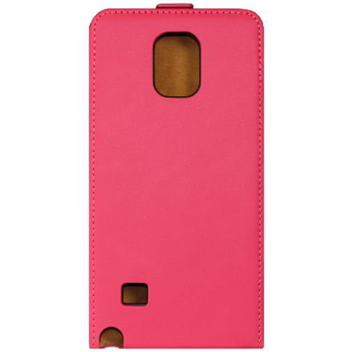 Productafbeelding van de Mobiparts Premium Flip Case Pink Samsung Galaxy Note 4