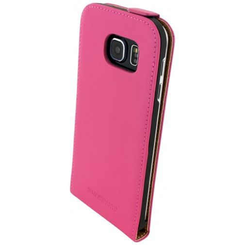 Productafbeelding van de Mobiparts Premium Flip Case Pink Samsung Galaxy S6