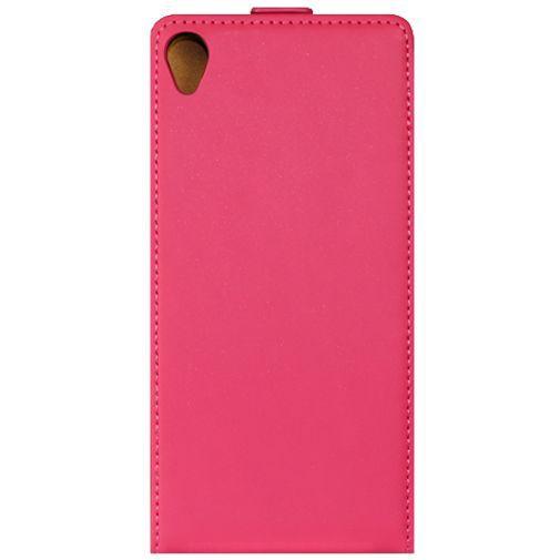 Productafbeelding van de Mobiparts Premium Flip Case Pink Sony Xperia Z3