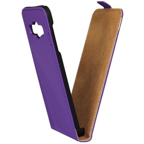 Productafbeelding van de Mobiparts Premium Flip Case Purple Samsung Galaxy A3