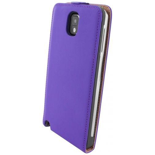 Productafbeelding van de Mobiparts Premium Flip Case Purple Samsung Galaxy Note 3