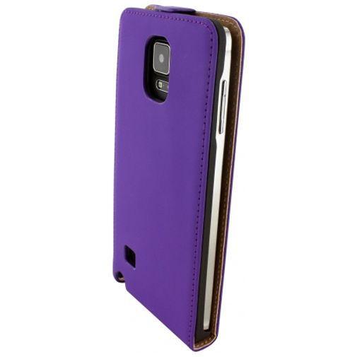 Productafbeelding van de Mobiparts Premium Flip Case Purple Samsung Galaxy Note 4