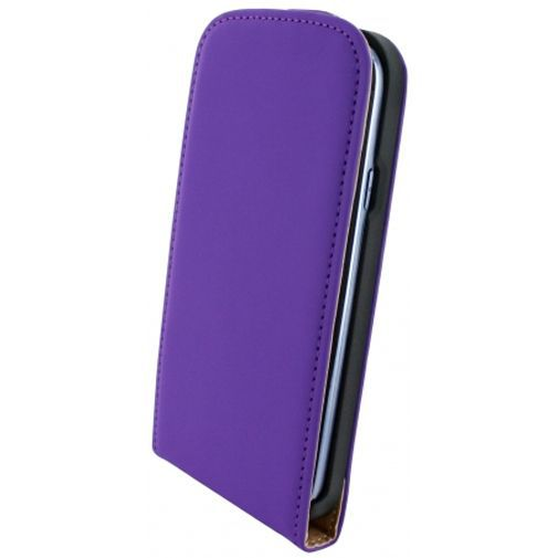 Productafbeelding van de Mobiparts Premium Flip Case Purple Samsung Galaxy S3 (Neo)