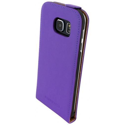 Productafbeelding van de Mobiparts Premium Flip Case Purple Samsung Galaxy S6