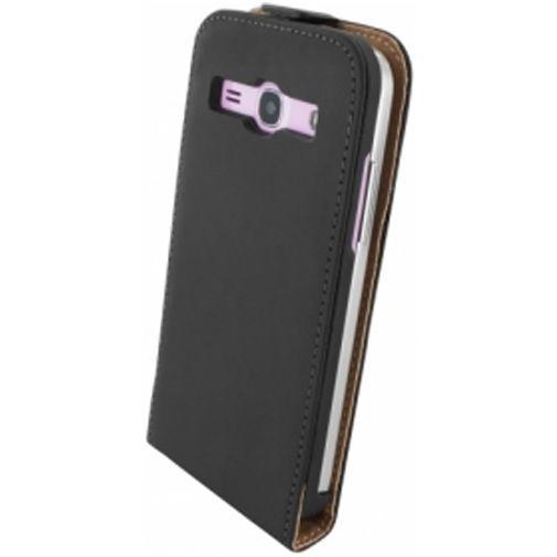 Productafbeelding van de Mobiparts Premium Flip Case Samsung Galaxy Core Plus Black