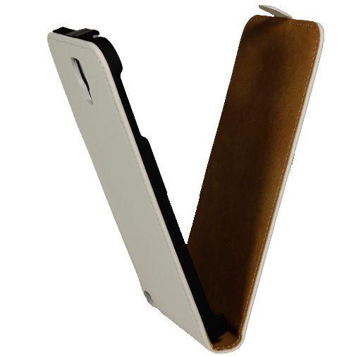 Productafbeelding van de Mobiparts Premium Flip Case Samsung Galaxy Note 3 Neo White