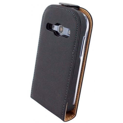 Productafbeelding van de Mobiparts Premium Flip Case Samsung Galaxy Fame Black
