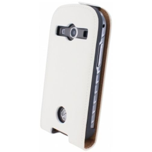 Productafbeelding van de Mobiparts Premium Flip Case Samsung Xcover 2 White