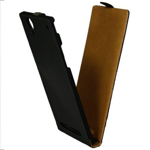 Productafbeelding van de Mobiparts Premium Flip Case Sony Xperia T2 Ultra Black