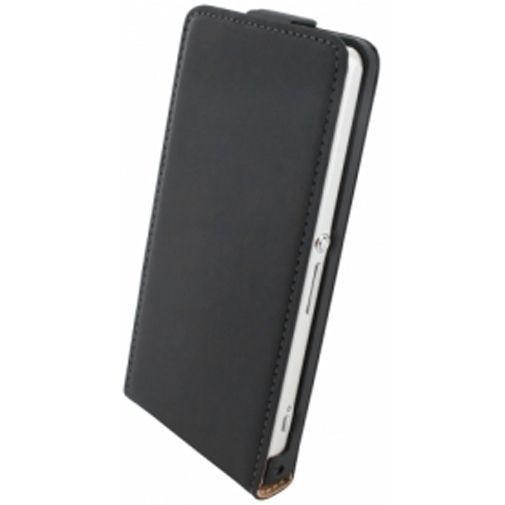 Productafbeelding van de Mobiparts Premium Flip Case Sony Xperia Z1 Compact Black