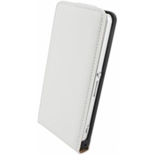 Productafbeelding van de Mobiparts Premium Flip Case Sony Xperia Z1 Compact White