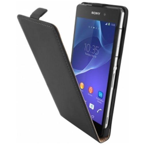 Productafbeelding van de Mobiparts Premium Flip Case Sony Xperia Z2 Black