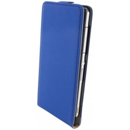 Productafbeelding van de Mobiparts Premium Flip Case Sony Xperia Z2 Blue