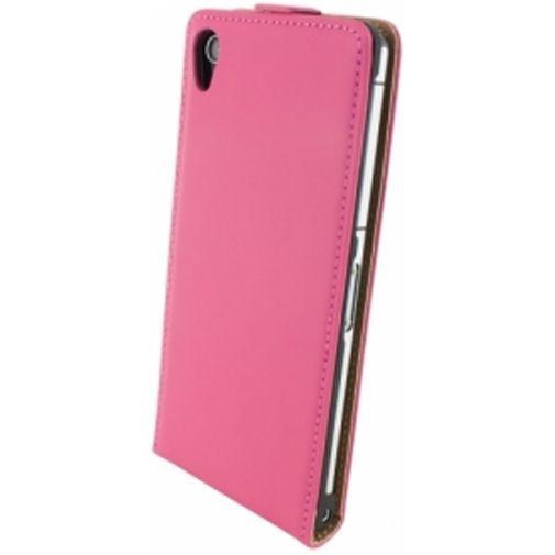 Productafbeelding van de Mobiparts Premium Flip Case Sony Xperia Z2 Pink