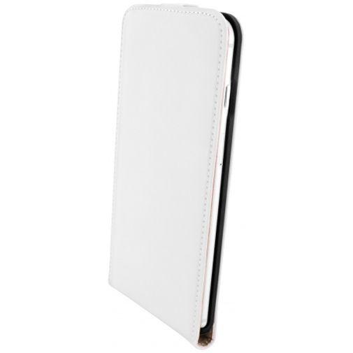 Productafbeelding van de Mobiparts Premium Flip Case White Apple iPhone 6 Plus/6S Plus