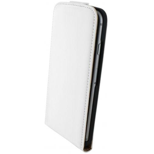 Productafbeelding van de Mobiparts Premium Flip Case White Apple iPhone 6/6S