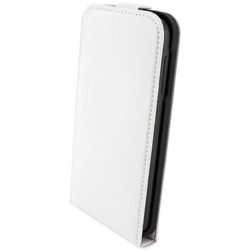 Productafbeelding van de Mobiparts Premium Flip Case White HTC Desire 510