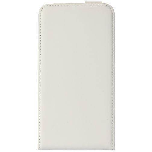 Productafbeelding van de Mobiparts Premium Flip Case White HTC Desire 516