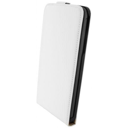 Productafbeelding van de Mobiparts Premium Flip Case White HTC Desire 816
