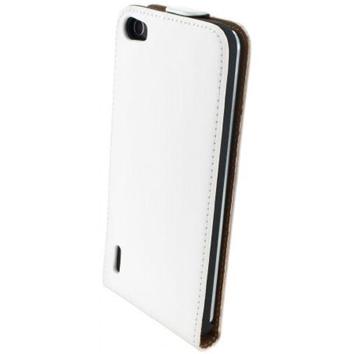 Productafbeelding van de Mobiparts Premium Flip Case White Honor 6