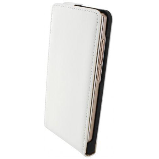 Productafbeelding van de Mobiparts Premium Flip Case White Huawei Ascend G6 4G