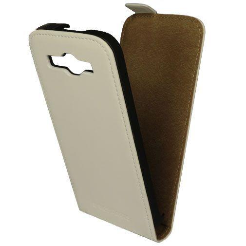 Productafbeelding van de Mobiparts Premium Flip Case White Huawei Ascend Y540 Dual Sim