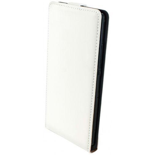 Productafbeelding van de Mobiparts Premium Flip Case White Huawei P8
