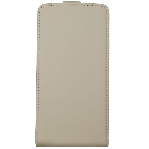 Productafbeelding van de Mobiparts Premium Flip Case White LG G3 S