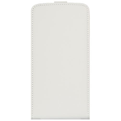 Productafbeelding van de Mobiparts Premium Flip Case White LG G3