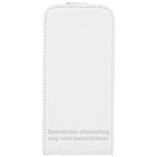 Productafbeelding van de Mobiparts Premium Flip Case White LG Spirit