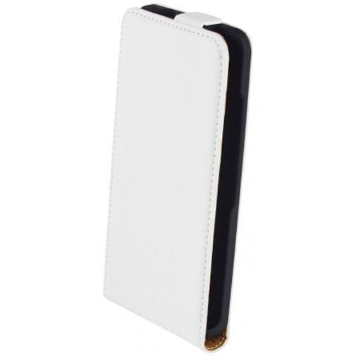 Productafbeelding van de Mobiparts Premium Flip Case White Microsoft Lumia 550