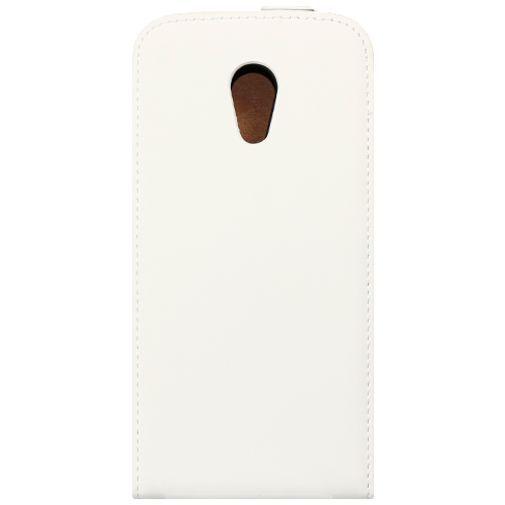 Productafbeelding van de Mobiparts Premium Flip Case White Motorola New Moto G