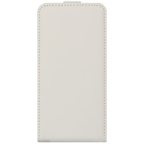 Productafbeelding van de Mobiparts Premium Flip Case White Samsung Galaxy A3