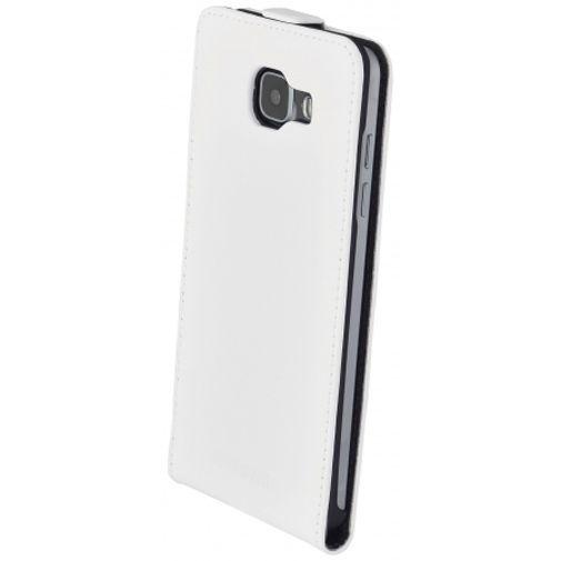 Productafbeelding van de Mobiparts Premium Flip Case White Samsung Galaxy A5 (2016)