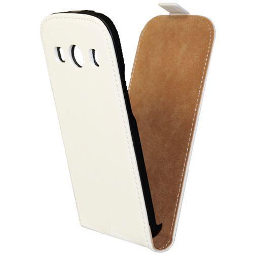 Productafbeelding van de Mobiparts Premium Flip Case White Samsung Galaxy Ace 4