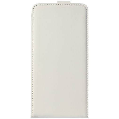 Productafbeelding van de Mobiparts Premium Flip Case White Samsung Galaxy Alpha