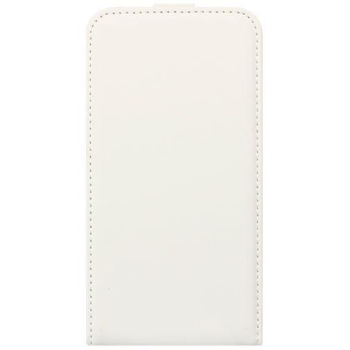 Productafbeelding van de Mobiparts Premium Flip Case White Samsung Galaxy Core 2